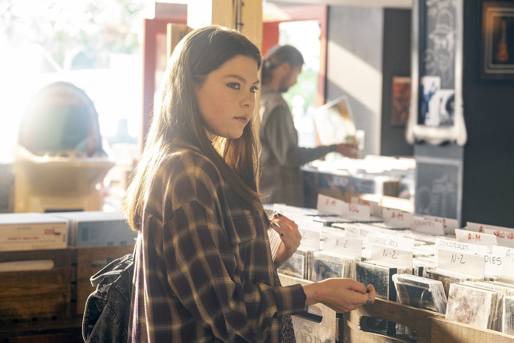 Hannah Zeile as teen Kate on 'This Is Us' Season 4