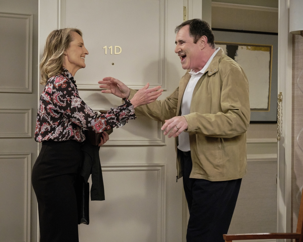 Helen Hunt and Richard Kind