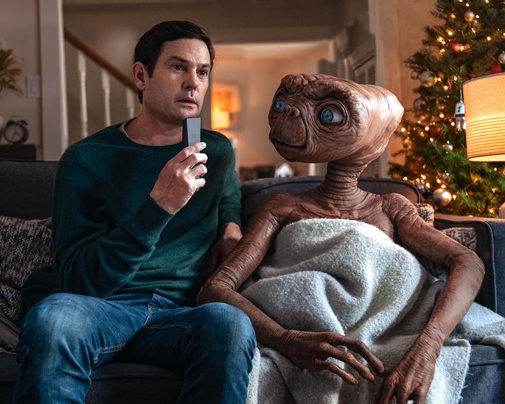 Henry Thomas and E.T.