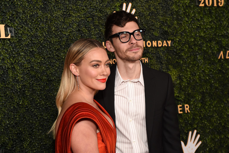 Hilary Duff and Matthew Koma on the red carpet