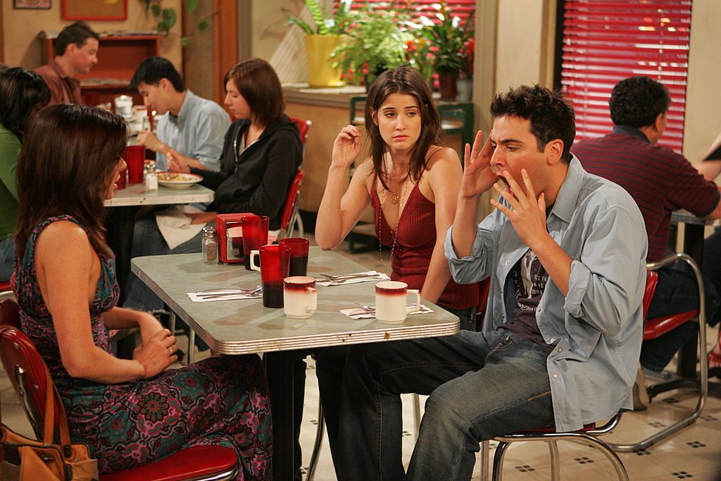 Robin, Ted and Lilly from 'How I Met Your Mother'