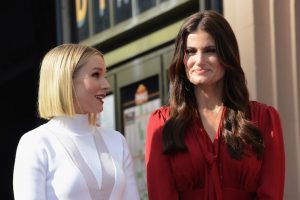 'Frozen' Sisters Kristen Bell and Idina Menzel Get A Double Walk of Fame Star Ceremony