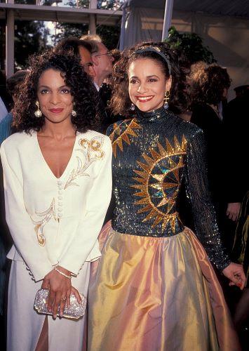 Jasmine Guy and Debbie Allen