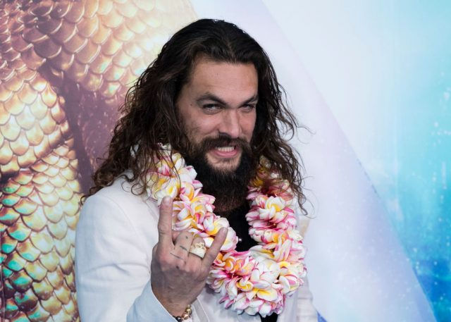Jason Momoa on the red carpet   Brook Mitchell/Getty Images