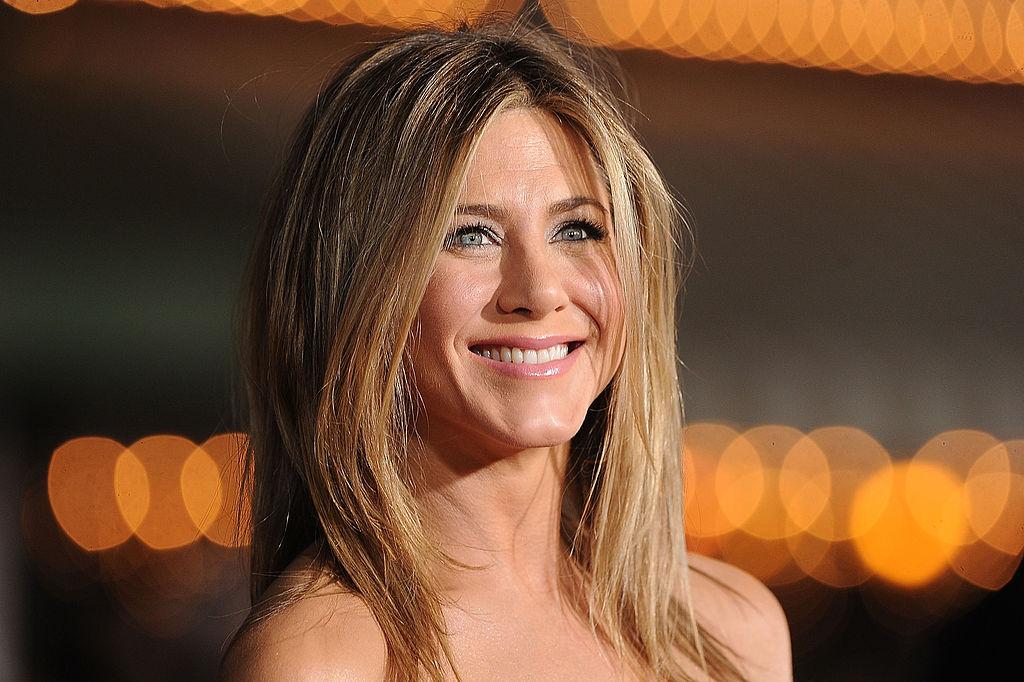 Jennifer Aniston onstage