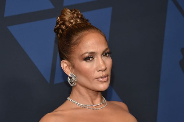 Jennifer Lopez on Oct. 27, 2019