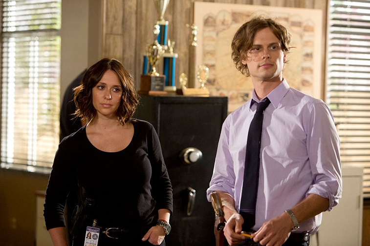 Jennifer Love Hewitt and Matthew Gray Gubler