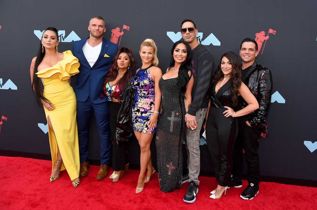 Jersey Shore cast at the MTV awards