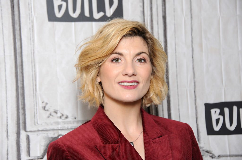 Jodie Whittaker of Doctor Who seasons 11 & 12 and possibly more in the future