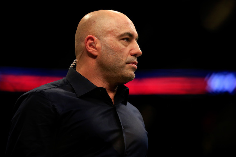 Joe Rogan onstage