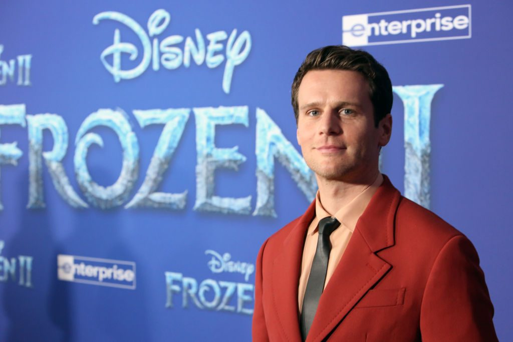 Jonathan Groff at the Frozen 2 premiere