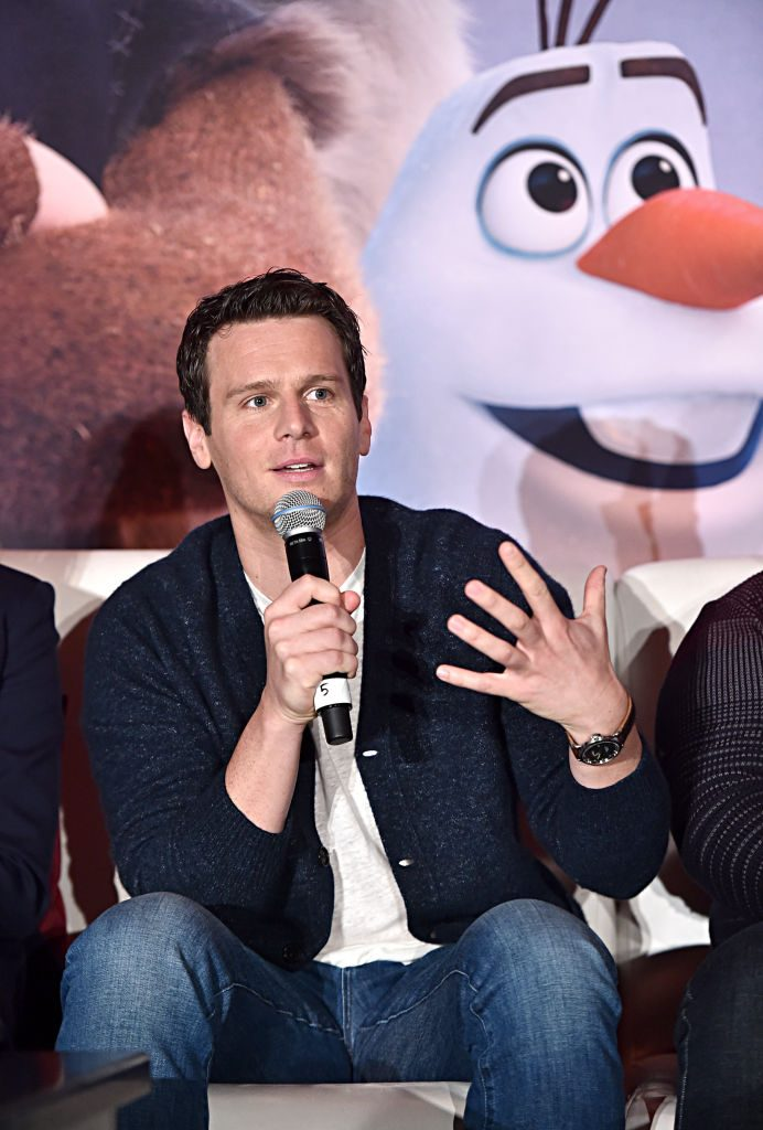 Jonathan Groff - Frozen 2 Press Conference
