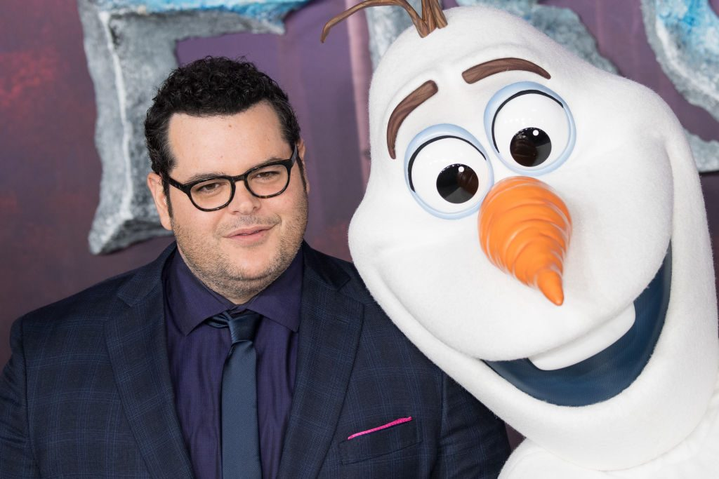 Josh Gad at the 'Frozen 2' premiere