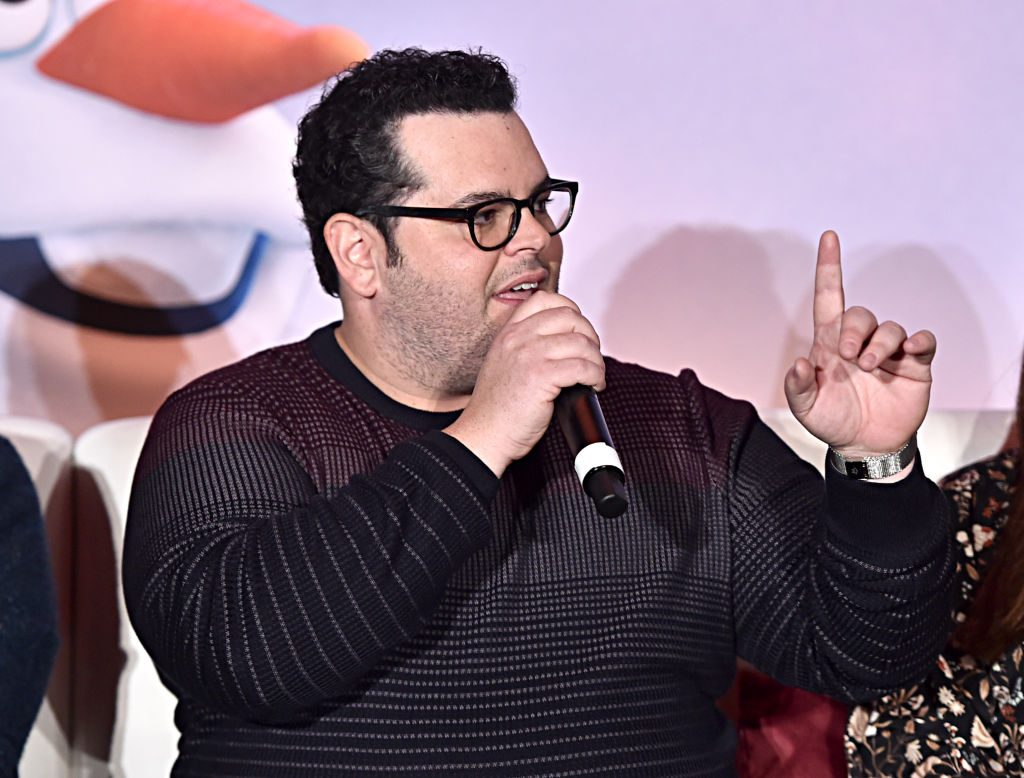 Josh Gad at the Frozen 2 press conference