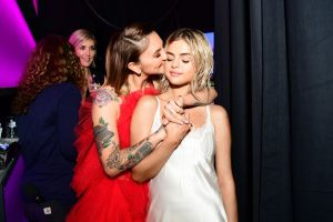 Selena Gomez and Julia Michaels Kiss on the Lips & Get Matching Tattoos