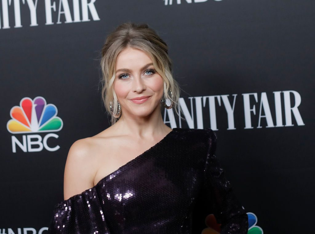 Julianne Hough attends NBC and Vanity Fair's celebration