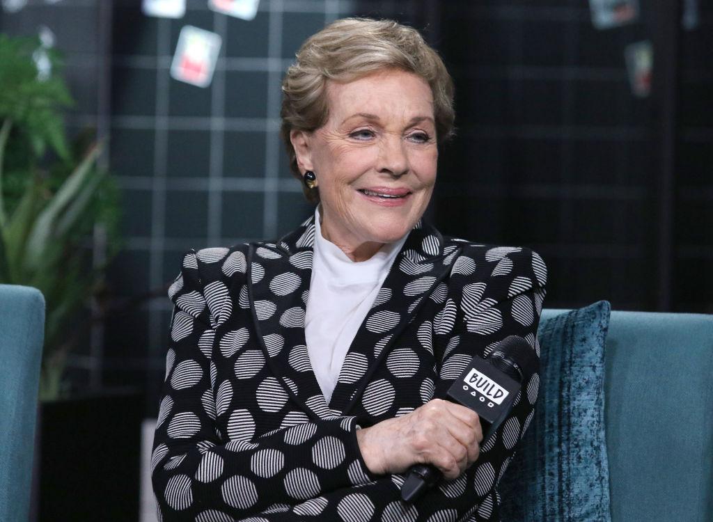 Julie Andrews during an interview