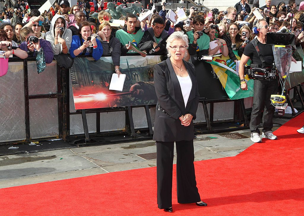 Julie Walters (Molly Weasley) at the Harry Potter premiere