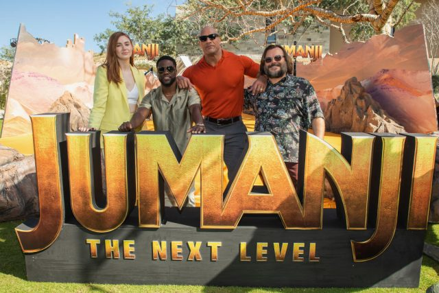 The cast of 'Jumanji: The Next Level'