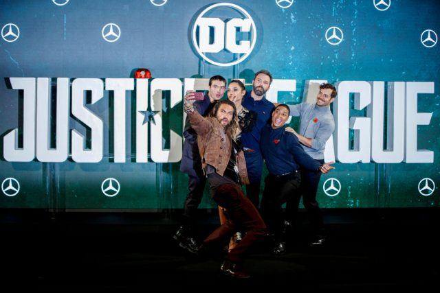 The cast of Warner Bros.' 'Justice League'