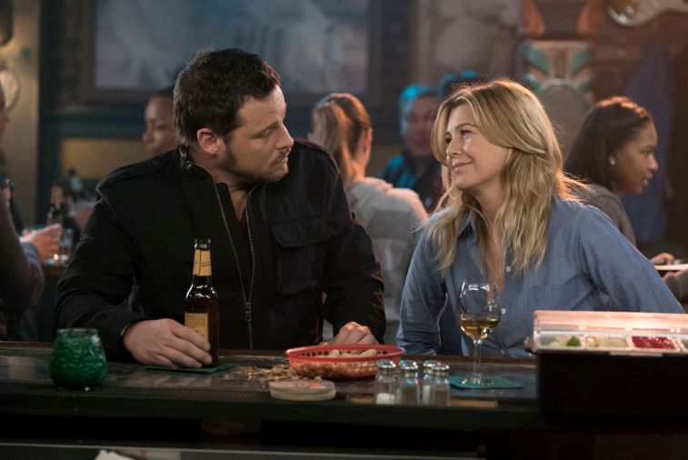 Justin Chambers and Ellen Pompeo
