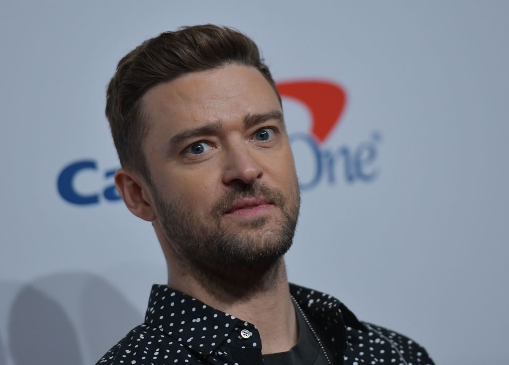 Justin Timberlake at a media event