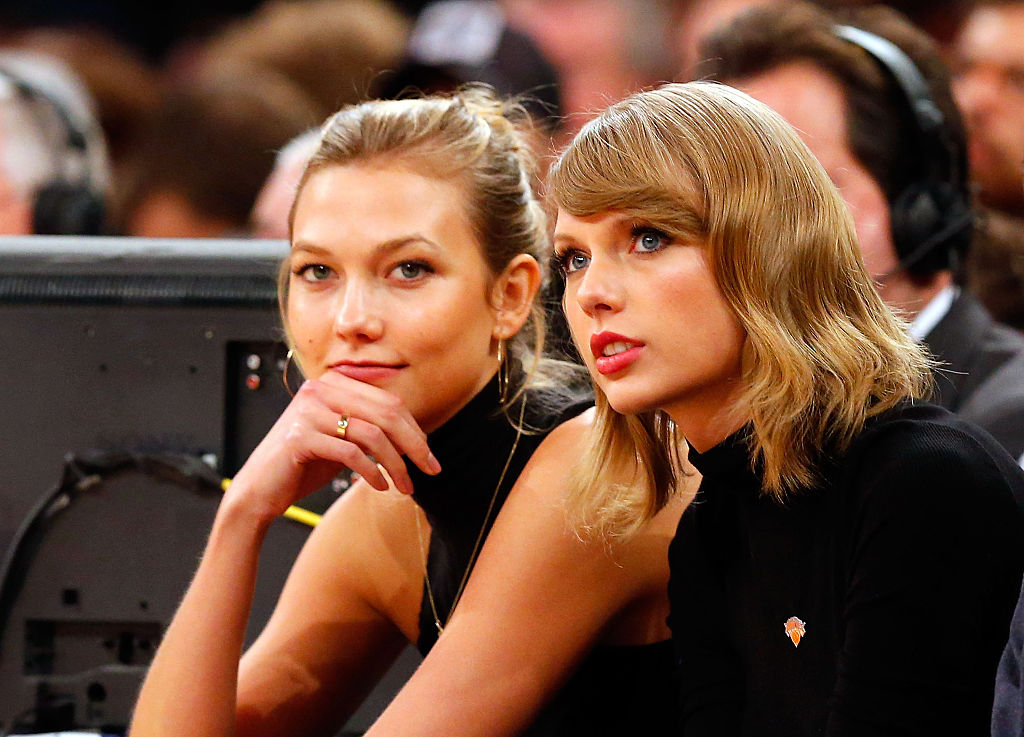 Karlie Kloss Just Shaded Taylor Swift Over The Scooter Braun