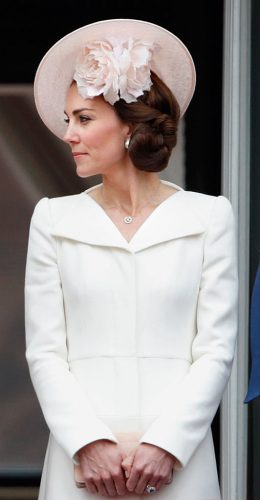 Kate Middleton at Trooping the Colour in 2016