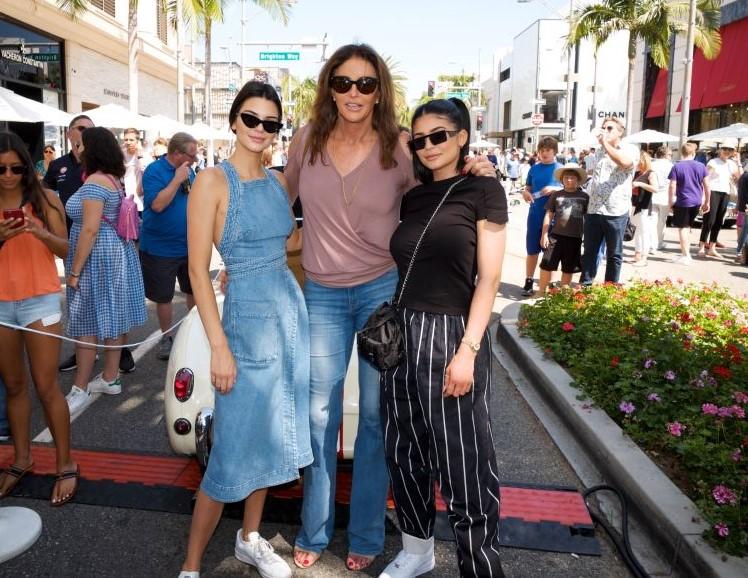 Kendall Jenner, Caitlyn Jenner, and Kylie Jenner