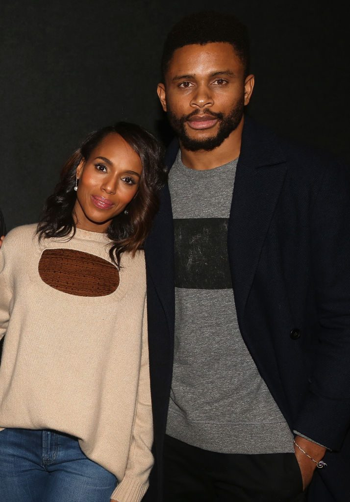 Kerry Washington and husband Nnamdi Asomugha