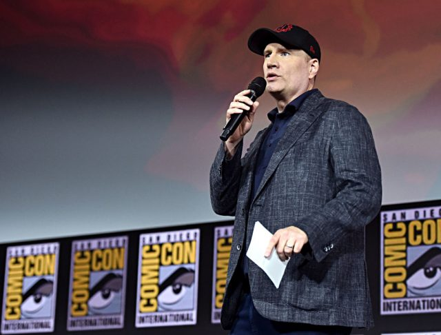President of Marvel Studios Kevin Feige at San Diego Comic-Con International