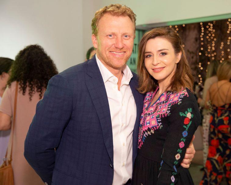 Kevin McKidd and Caterina Scorsone