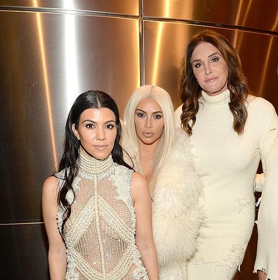 Koutrney Kardashian, Kim Kardashian, and Caitlyn Jenner
