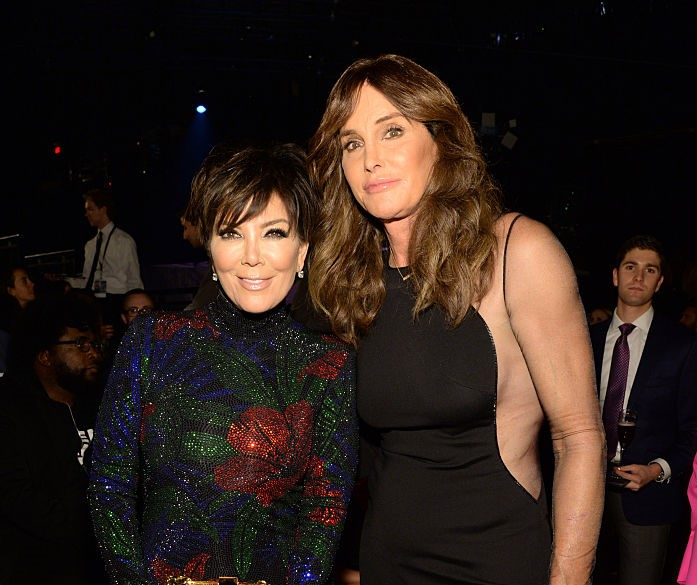 Kris Jenner and Caitlyn Jenner