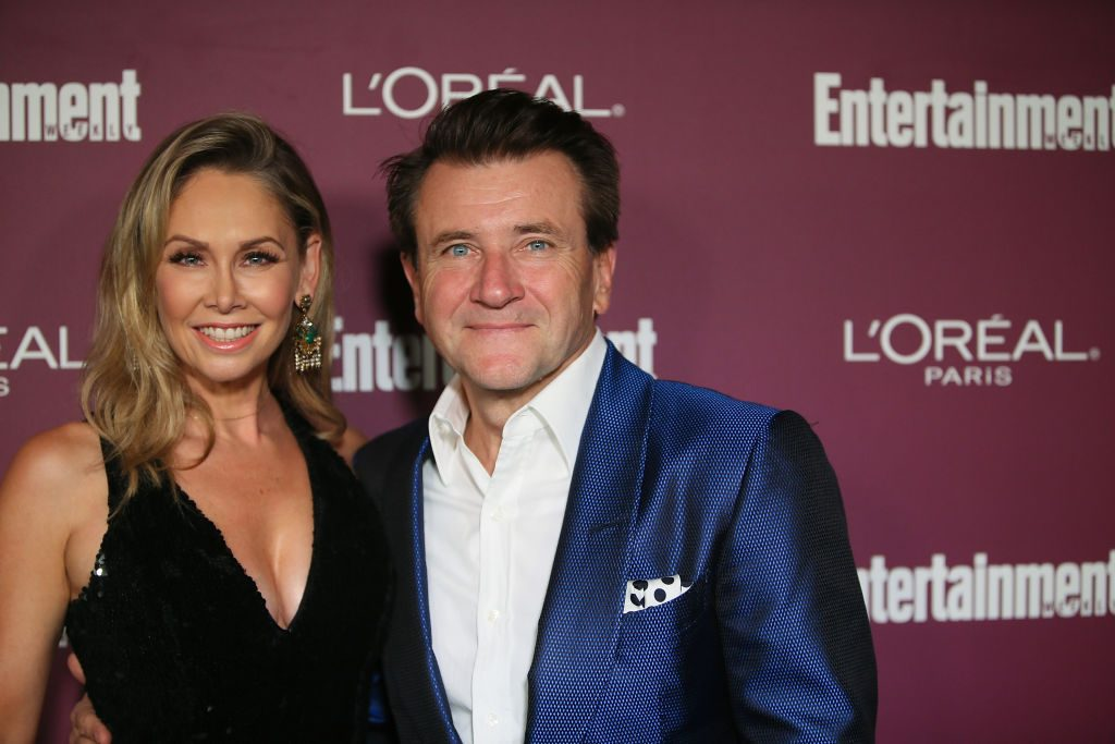 "Kym Johnson and ""Shark Tank's"" Robert Herjavec"