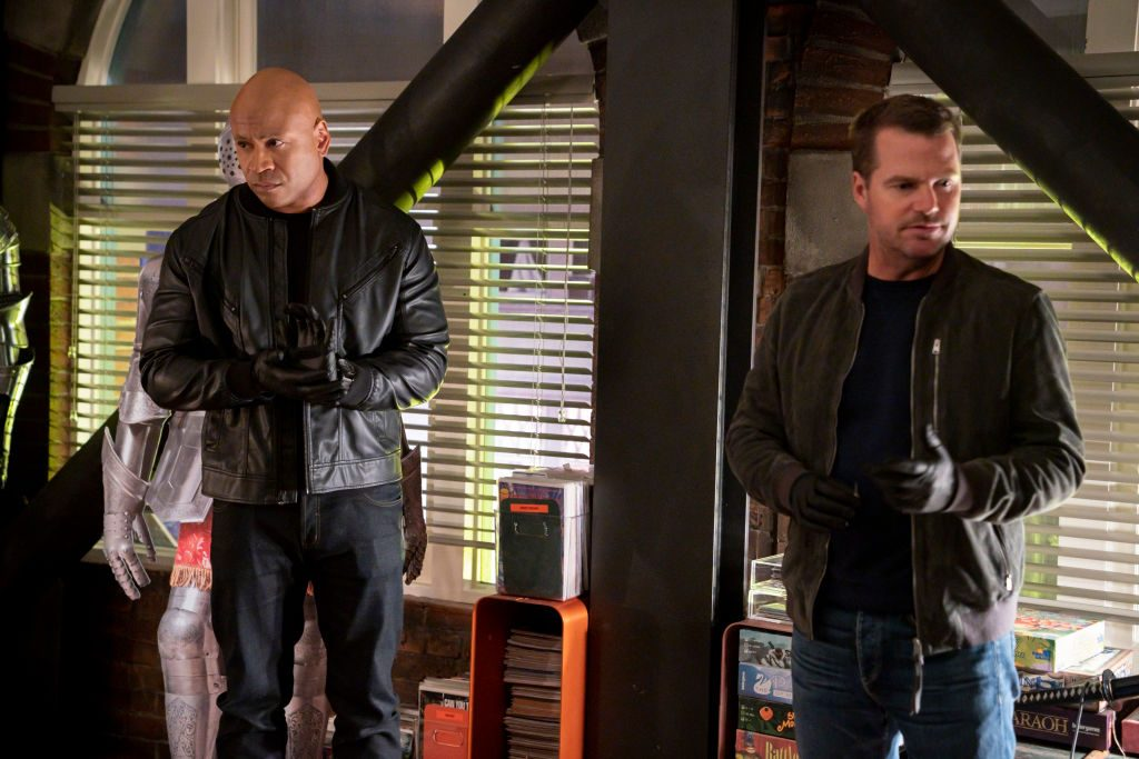 LL Cool J and Chris O'Donnell on NCIS Los Angeles | Robert Voets/CBS via Getty Images
