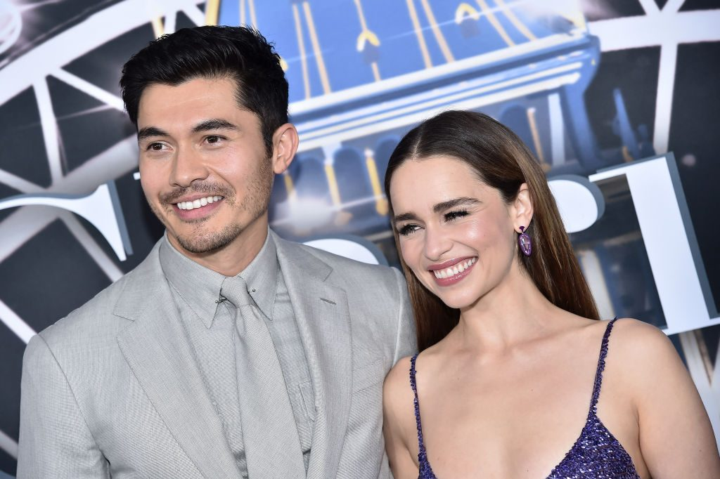 Henry Golding and Emilia Clarke attend 'Last Christmas' New York premiere