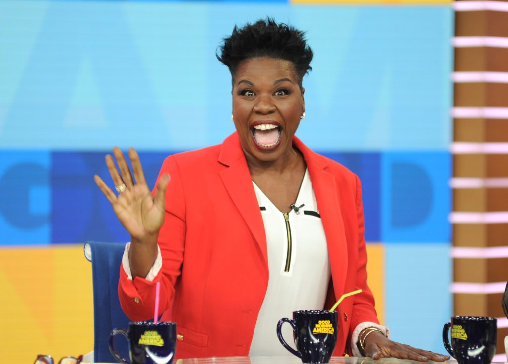 Leslie Jones is a guest on 'Good Morning America'