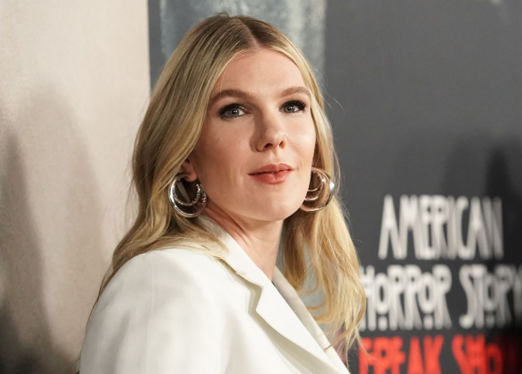 Lily Rabe attends FX's 'American Horror Story' 100th Episode Celebration