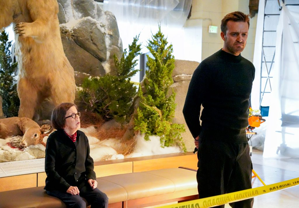 Linda Hunt and Carl Beukes on NCIS Los Angeles |  Bill Inoshita/CBS via Getty Images