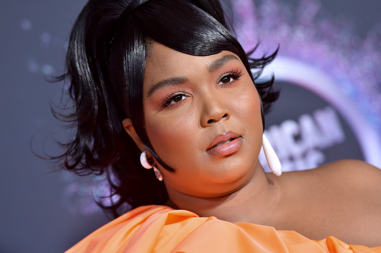 Lizzo on the red carpet