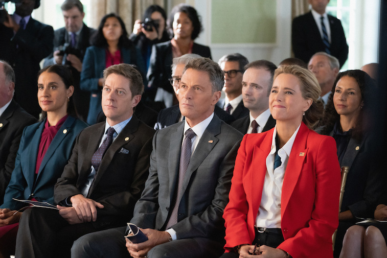 The cast of Madam Secretary on the show