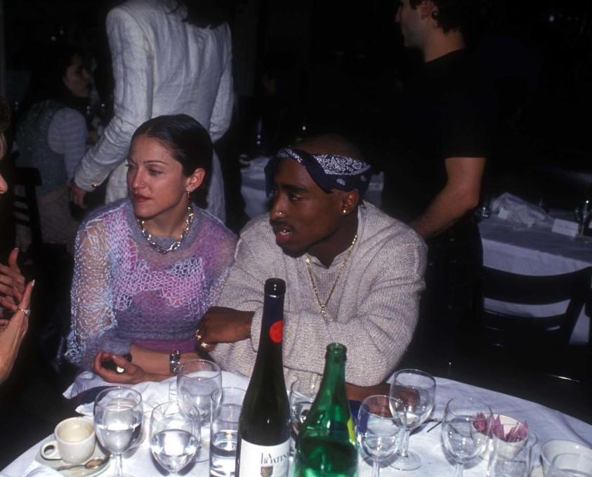 Madonna and Tupac Shakur