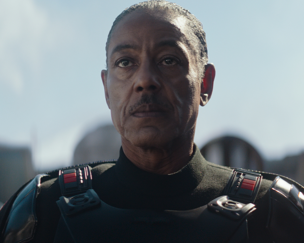 Giancarlo Esposito as Mof Gideon in The Mandalorian