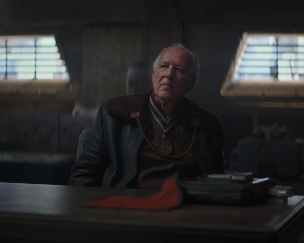 Werner Herzog in The Mandalorian