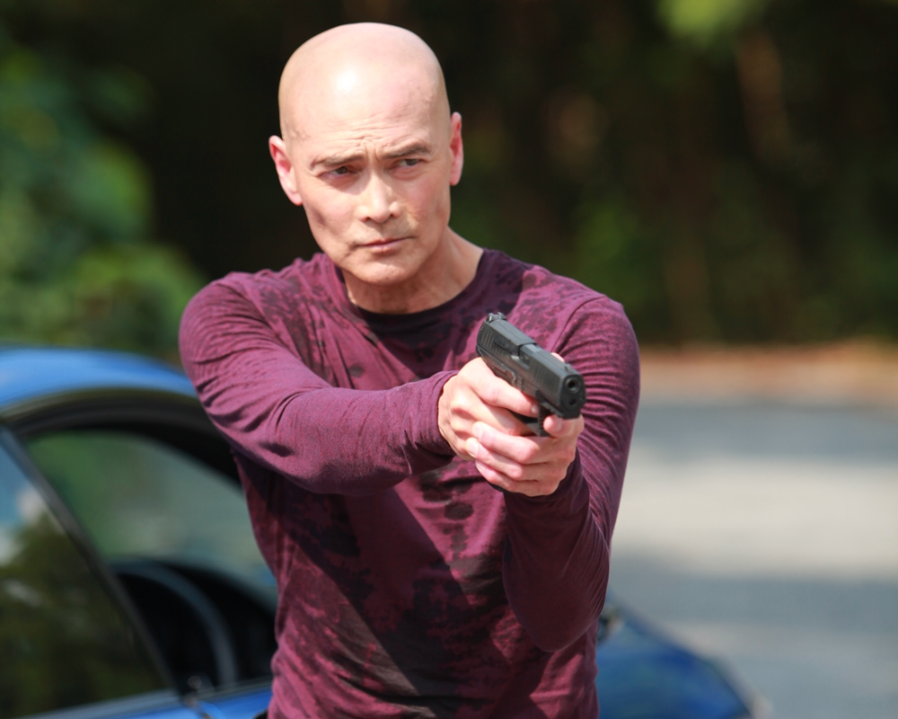 Mark Dacascos in The Driver