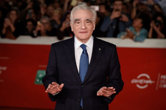 Martin Scorsese on the red carpet