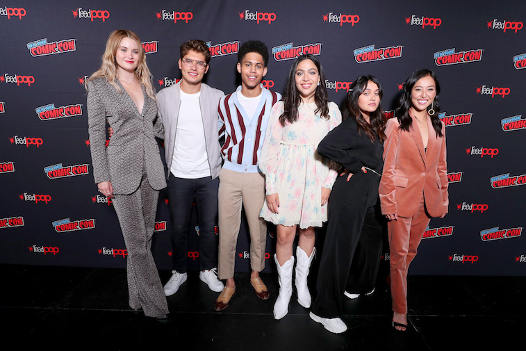 Marvel's Runaways cast on the red carpet