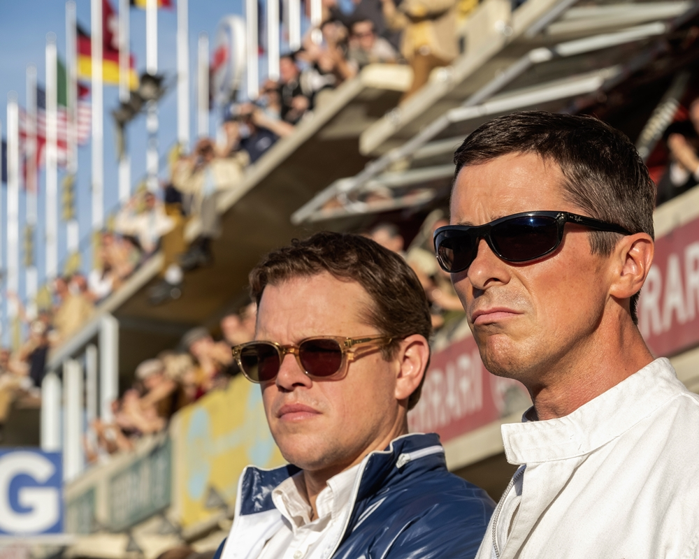 Matt Damon and Christian Bale in Ford v Ferrari