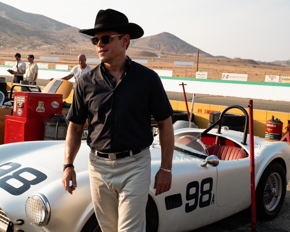 Matt Damon in Ford v Ferrari